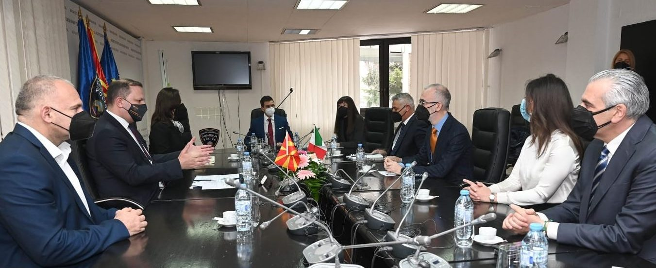 IMoI project leader CSC WB meets authorities of North Macedonia