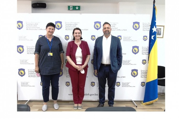 New Head of Project meets the Chief Prosecutor in Bosnia-Herzegovina