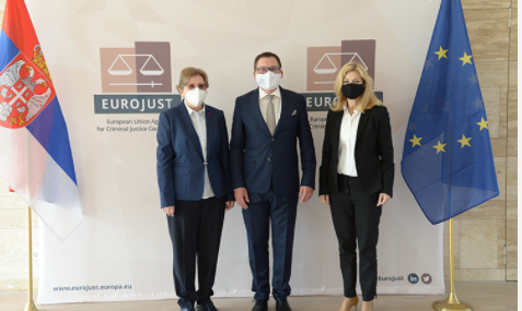Almost 63 % increase of newly registered cases with Serbian involvement at Eurojust