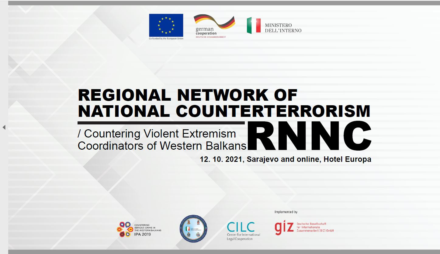 Regional Network of National CT/CVE Coordinators of the WB – 8. Meeting